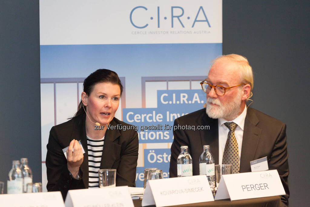 Monika Kovarova-Simecek, Marius Perger, © C.I.R.A./APA-Fotoservice/Martin Lusser (18.10.2017)