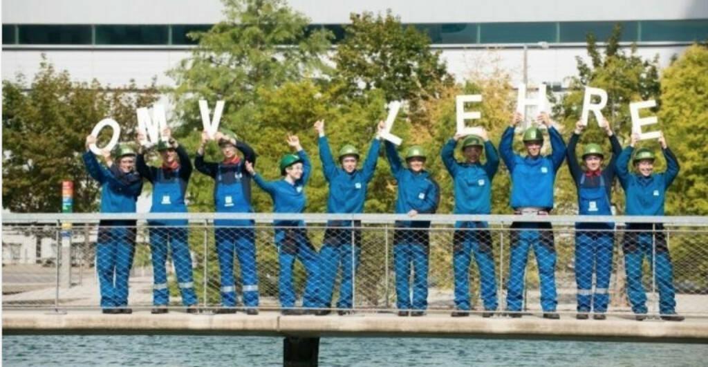 OMV Lehre : Die OMV sucht Lehrlinge mit viel Energie! Die Bewerbungsfrist für technische und kaufmännische Lehrstellen in Österreich hat gestartet. Alle Informationen gibt es hier: http://bit.ly/2fMrPtV (18.10.2017)