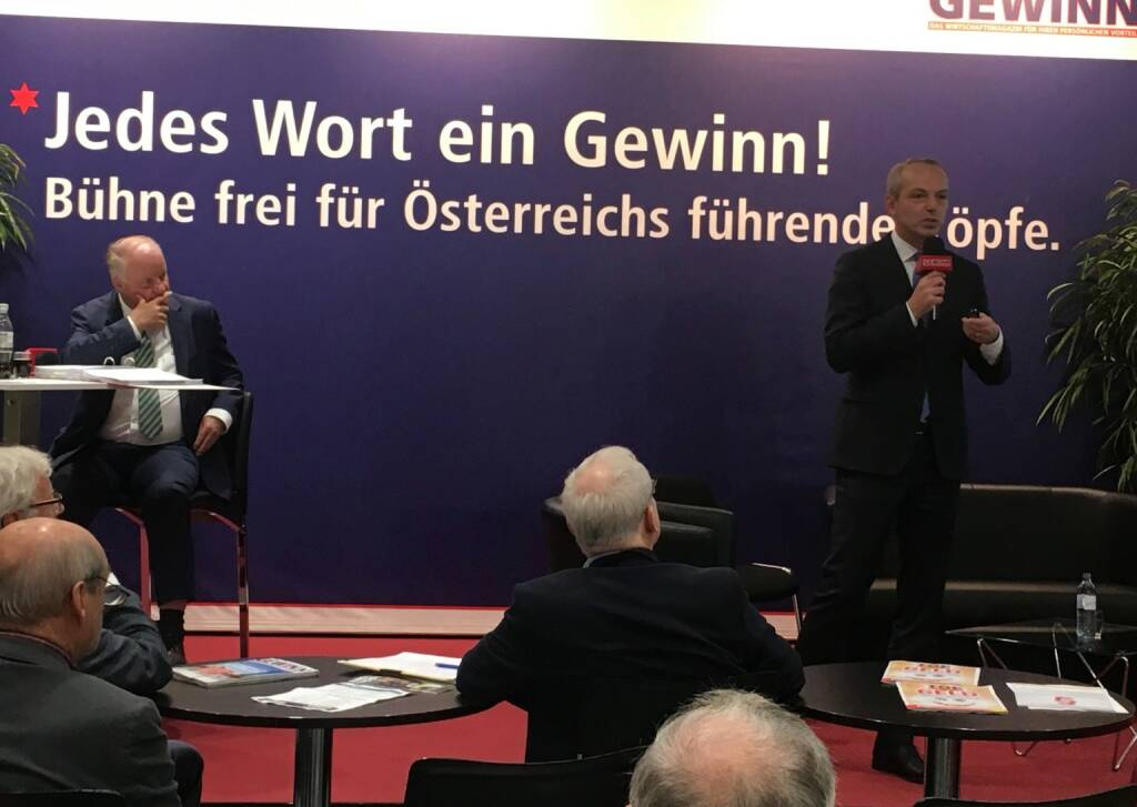 Star der Stunde: Siegfried Mayrhofer, CFO Telekom Austria Group (19.10.2017)
