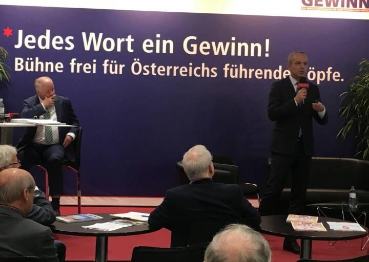 Star der Stunde: Siegfried Mayrhofer, CFO Telekom Austria Group