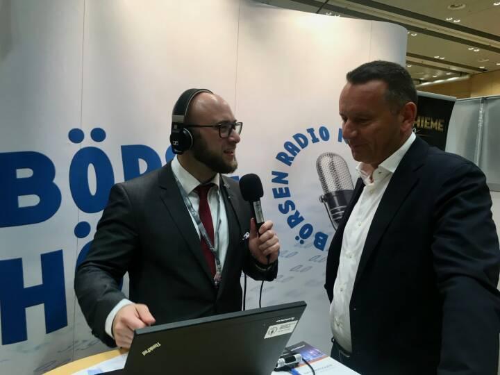 börsenradio.at-Interview mit Palfinger-CEO Herbert Ortner