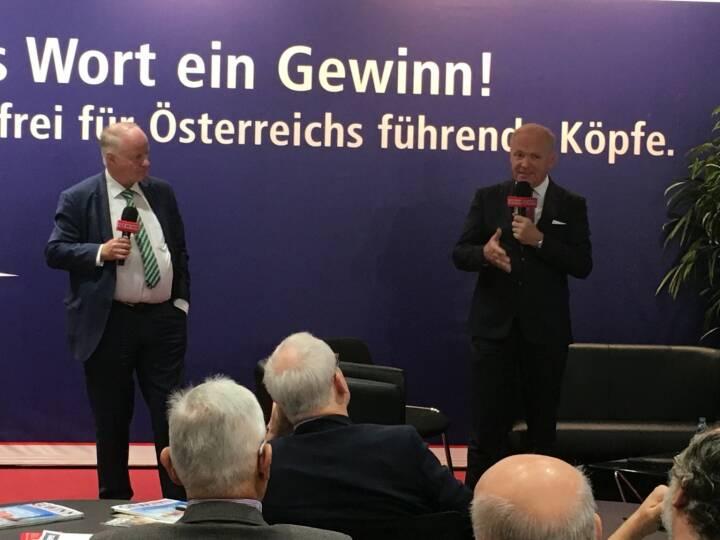 Star der Stunde: Amag-CEO Helmut Wieser
