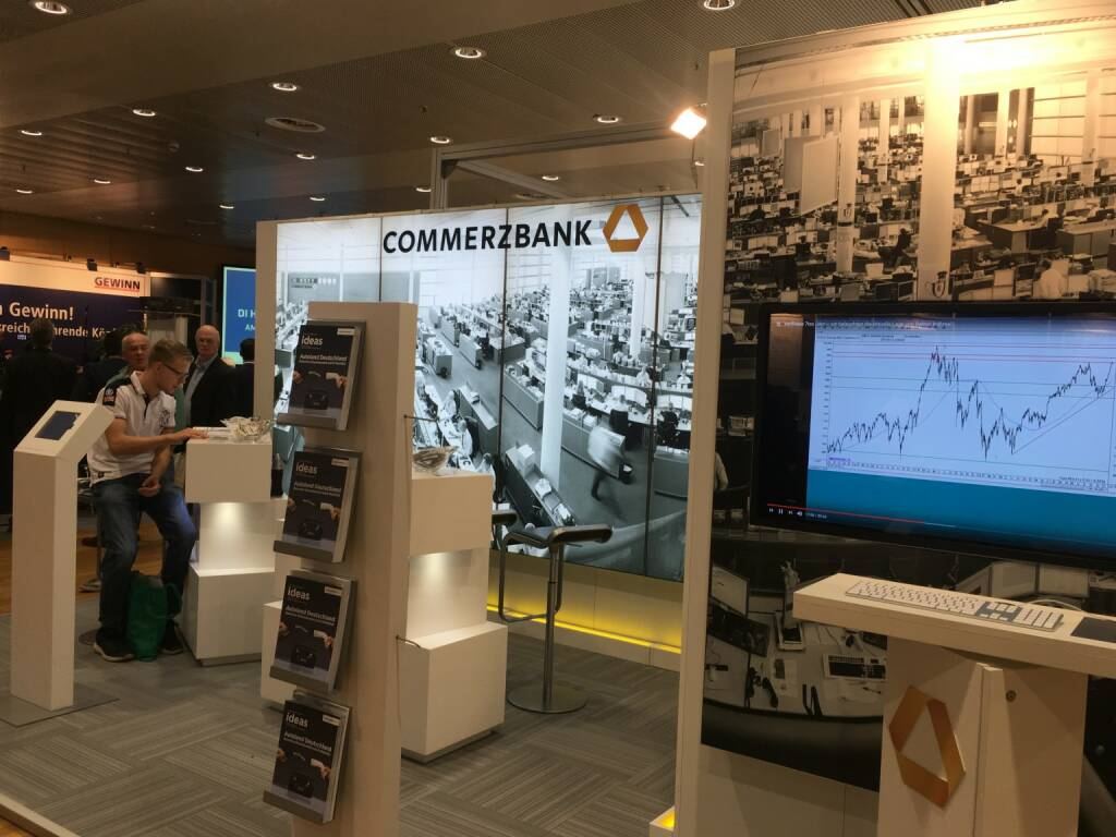 Commerzbank, Messestand (19.10.2017)