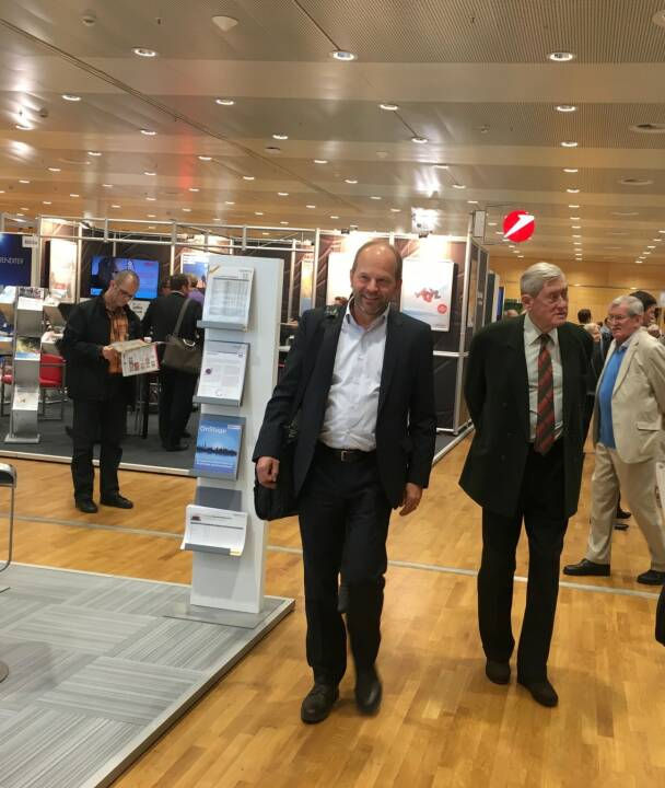 AT&S-CEO Andreas Gerstenmayer, Hannes Androsch