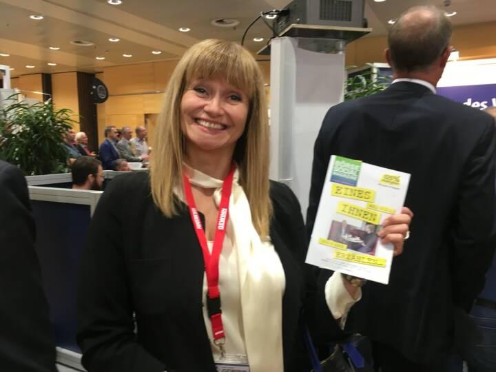 AT&S-IR-Chefin Elke Koch
