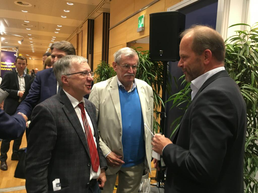Berthold Berger, Andreas Gerstenmayer, AT&S-CEO (19.10.2017)