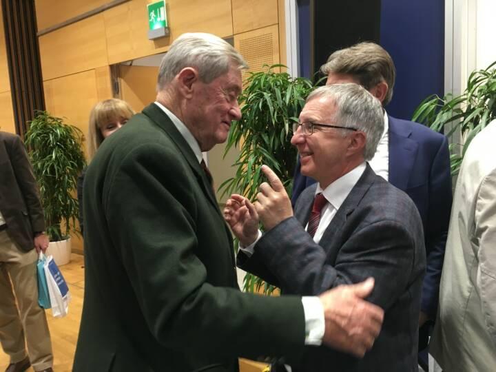 Hannes Androsch und Berthold Berger