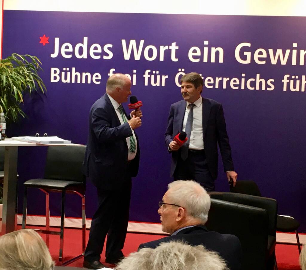 Star der Stunde: Ernst Vejdovszky, CEO S Immo AG (19.10.2017)