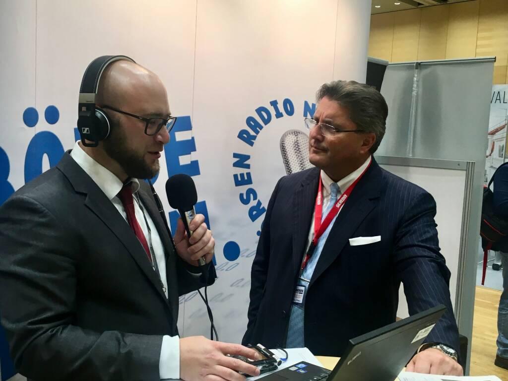 börsenradio.at-Interview mit Porr-Chef Karl-Heinz Strauss (19.10.2017)