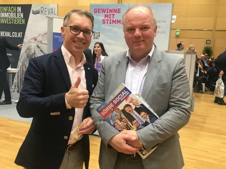 Alfred Reisenberger und Lukas Stipkovich
