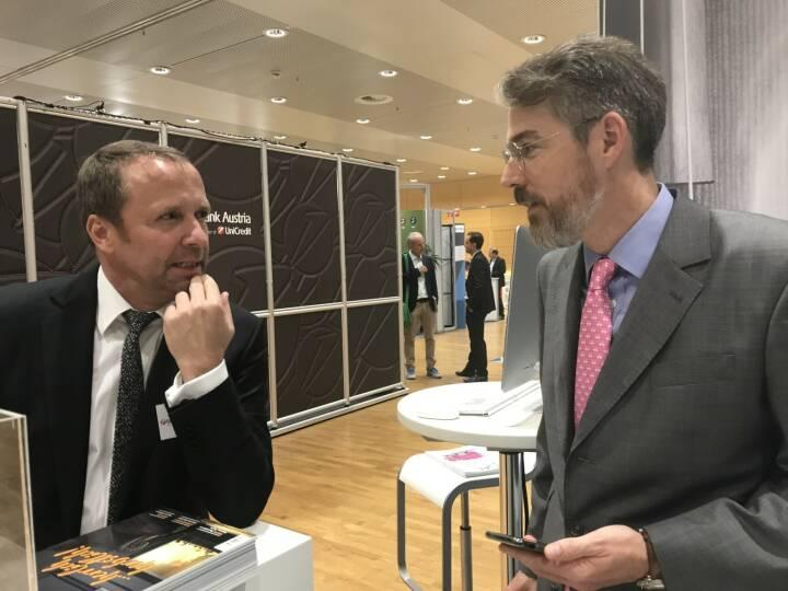 Frank Weingarts (UniCredit onemarkets), Heiko Geiger (Vontobel)