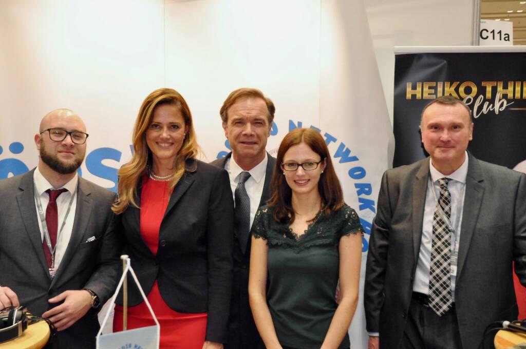 Sebastian Leben (boersenradio.at), Milena Ioveva (UBM), Thomas Winkler (CEO UBM), Peter Heinrich (boersenradio.at) (20.10.2017)