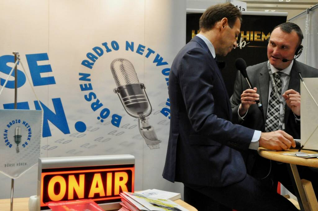 Andreas Brandstetter (CEO Uniqa), Peter Heinrich (boersenradio.at), On Air (20.10.2017)