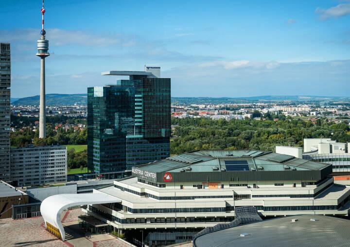 Austria Center Vienna erneuert oberstes Stockwerk, Donaustadt, Wien, Donauturm; Fotocredit:IAKW-AG/David Bohmann