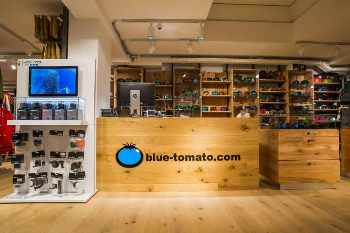 Der internationale Boardsport- und Lifestylespezialist Blue Tomato (blue-tomato.com) eröffnet in der Marktgasse in Winterthur seinen vierten Shop in der Schweiz; Fotocredit: Blue Tomato
