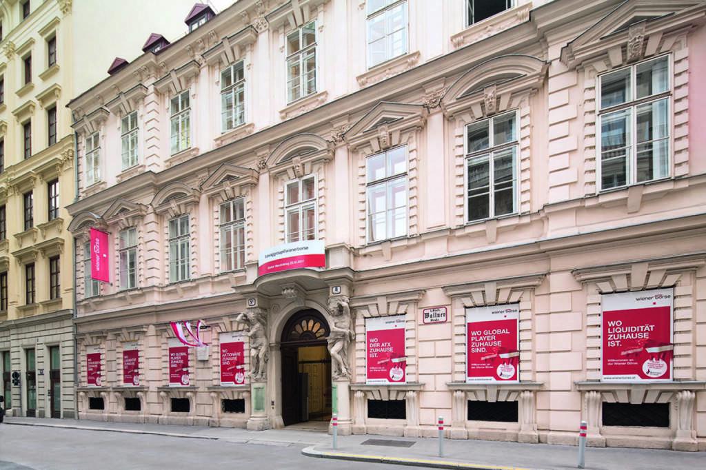 Wiener Börse von außen, Fotocredit: Wiener Börse, © Aussendung (25.10.2017)