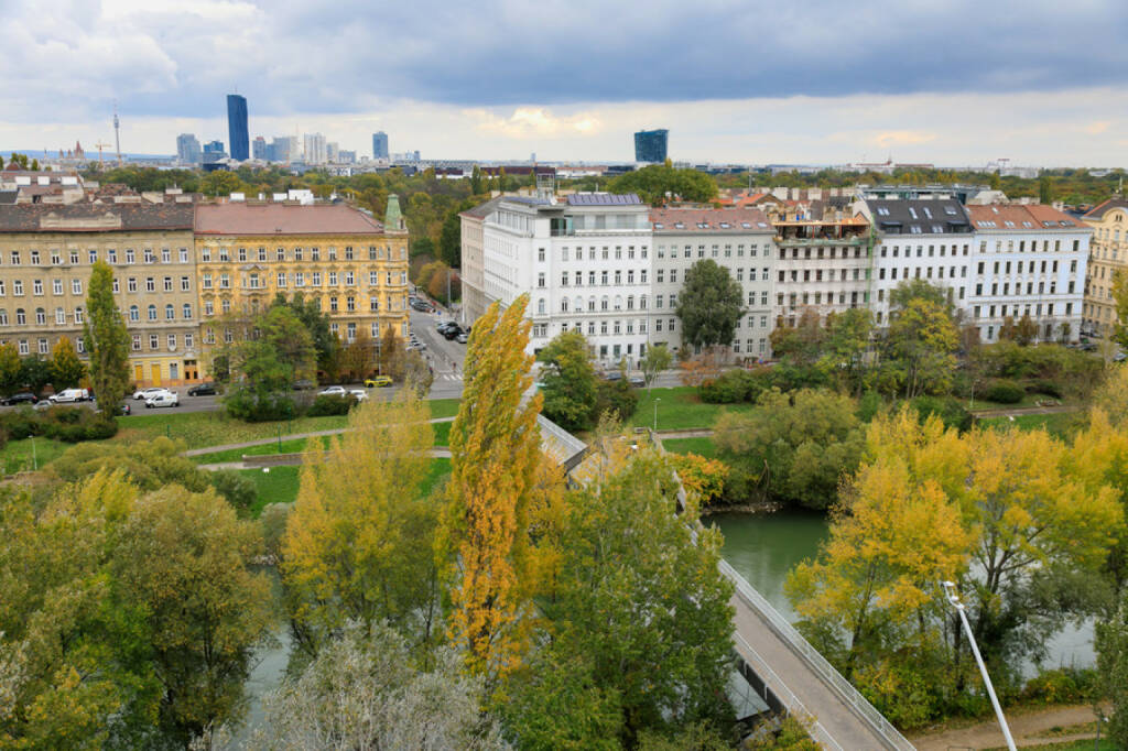 Gleichenfeier ViE, Donaukanal, Wien, Ausblick; Fotocredit: CA Immobilien Anlagen AG/APA-Fotoservice/Schedl (25.10.2017)