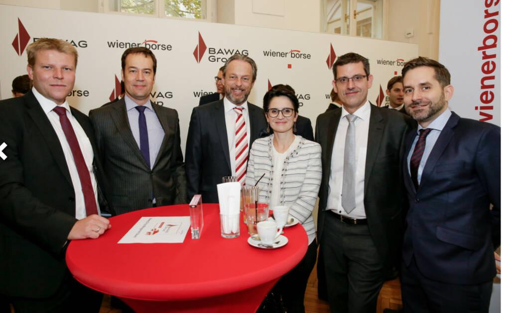 Bawag-IPO: Gäste; Fotocredit: Wiener Börse (26.10.2017)