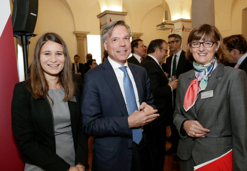 Bawag-IPO: Gäste; rechts Henriette Lininger (Wiener Börse); Fotocredit: Wiener Börse (26.10.2017)