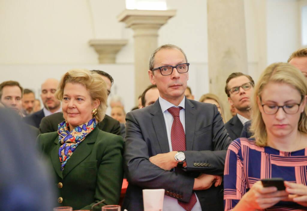 Bawag-IPO: Auch RCB-Vorstand Wilhelm Celeda war da; Fotocredit: Wiener Börse (26.10.2017)