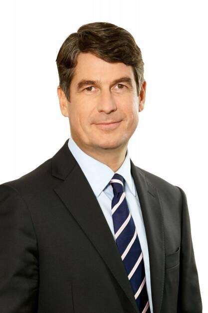 Stefan Borgas, CEO RHI Magnesita; Fotocredit: RHI Magnesita, © Aussender (27.10.2017)