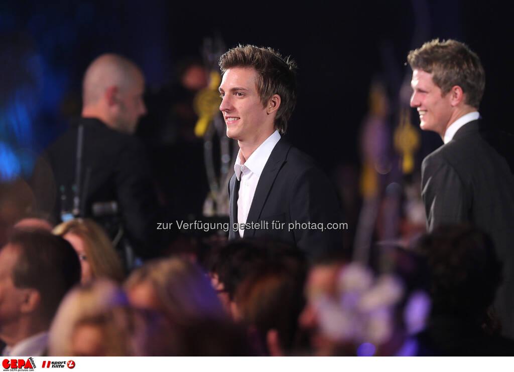 Gregor Schlierenzauer, Thomas Morgenstern, © GEPA pictures/ Sporthilfe (15.12.2012)