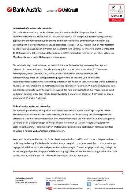 Österreichs Industrie weiter in Topform, Seite 3/4, komplettes Dokument unter http://boerse-social.com/static/uploads/file_2381_osterreichs_industrie_weiter_in_topform.pdf (31.10.2017)