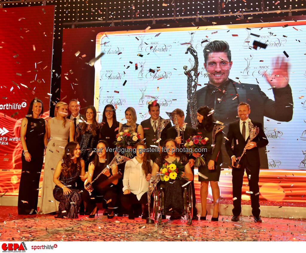 Lotterien Sporthilfe-Gala, Siegerfoto. (Photo: GEPA pictures/ Hans Oberlaender) (04.11.2017)