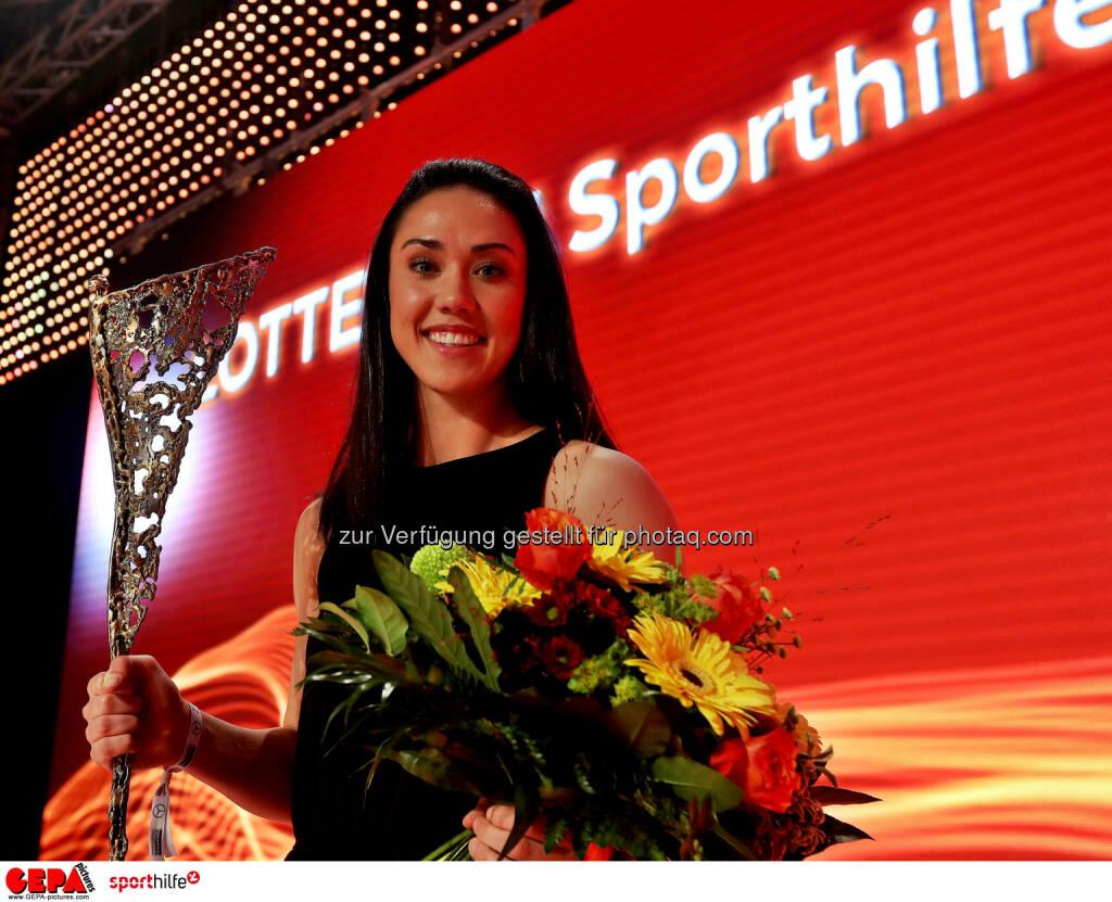 Manuela Zinsberger - Lotterien Sporthilfe-Gala (Photo: GEPA pictures/ Hans Oberlaender) (04.11.2017)