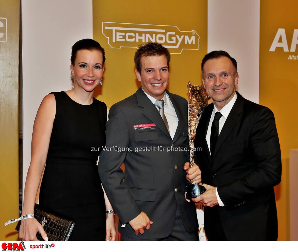 Markus Salcher and Erich Artner - Lotterien Sporthilfe-Gala (Photo: GEPA pictures/ Hans Oberlaender) (04.11.2017)