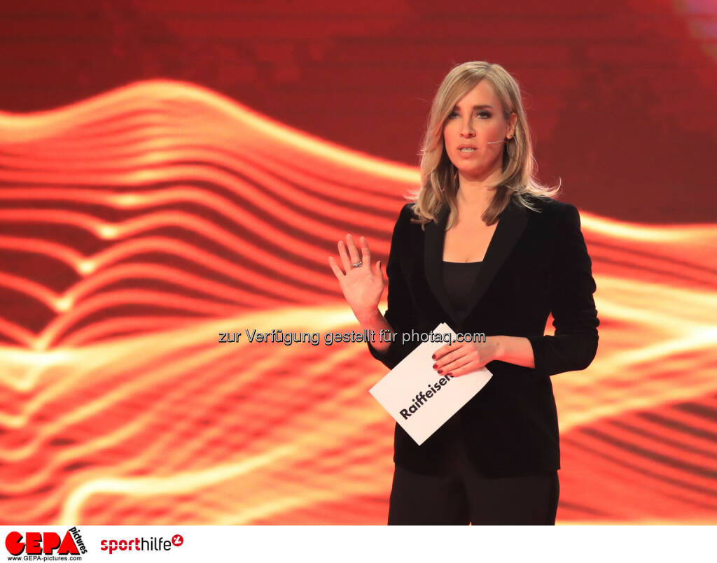 Lotterien Sporthilfe-Gala - Nadja Bernhard (ORF). (Photo: GEPA pictures/ Mario Buehner) (04.11.2017)