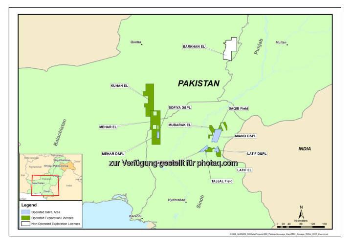 OMV Aktiengesellschaft: OMV startet Produktion im Sofiya Gas- und Kondensatfeld in Pakistan (Fotocredit: OMV)