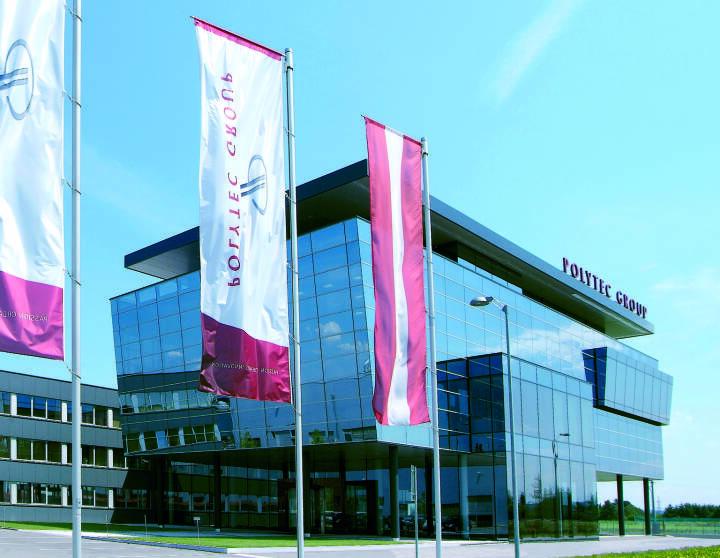Polytec Group, Firmengebäude, Hörsching, Fotocredit: Polytec