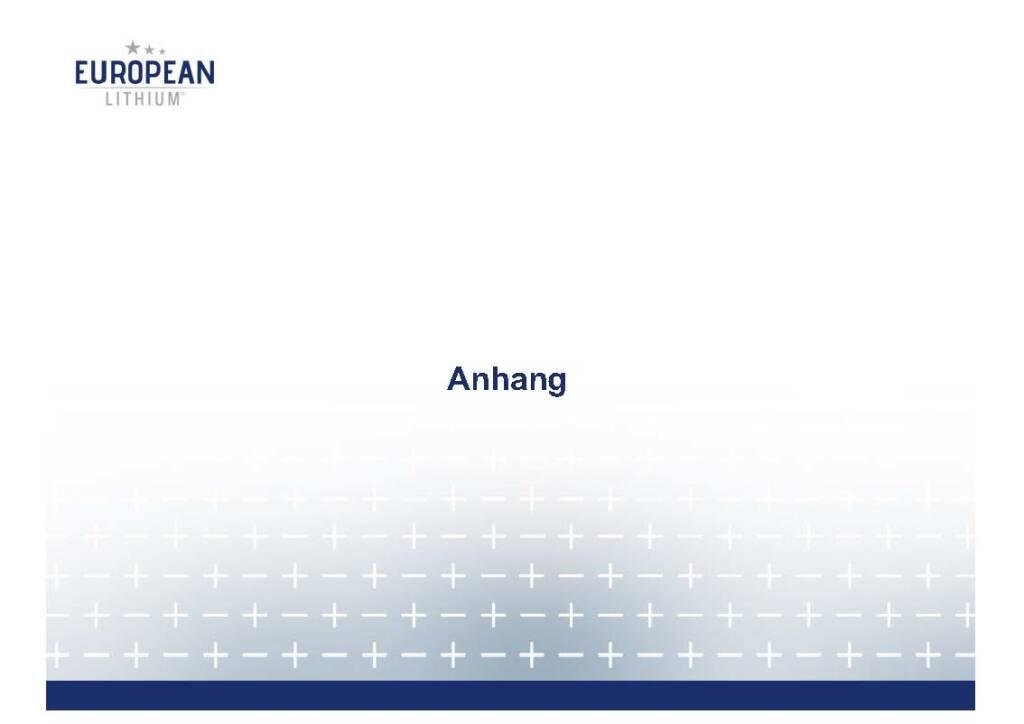 Präsentation European Lithium - Anhang (07.11.2017)