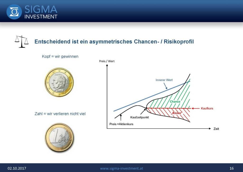 Präsentation Sigma Alfa European Opportunities Fonds - asymetrisches Chancen- / Risikoprofil (07.11.2017)