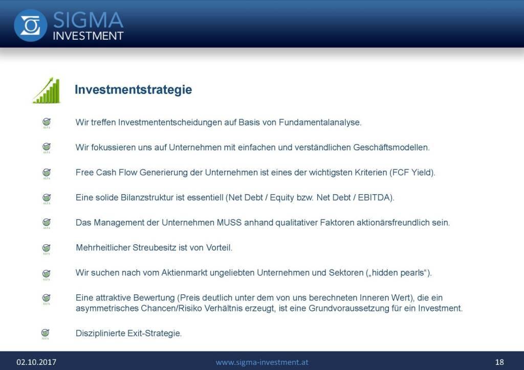 Präsentation Sigma Alfa European Opportunities Fonds - Investmentstrategie (07.11.2017)