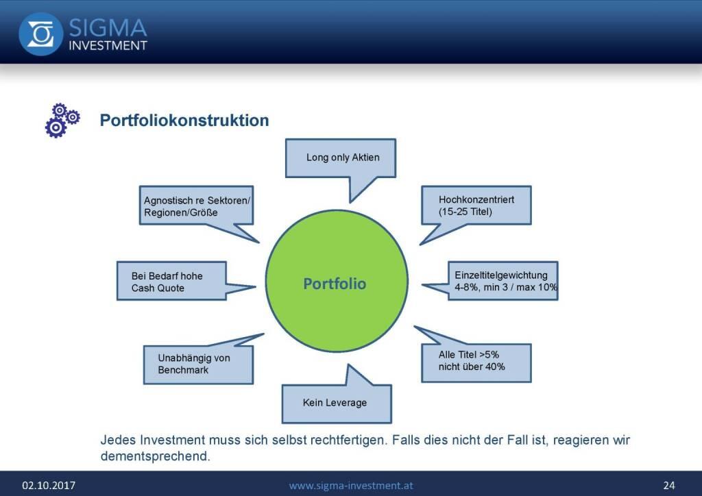 Präsentation Sigma Alfa European Opportunities Fonds - Portfoliokonstruktion (07.11.2017)