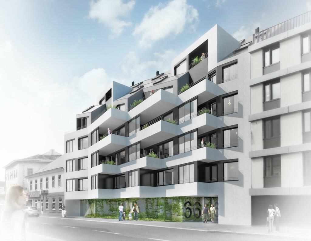 Bereits ein Jahr vor Fertigstellung ist die zweite Baustufe des Projekts wohn:park:zwölf in der Arndtstraße in Wien-Meidling vollständig verwertet und alle 38 Einheiten sind verkauft. Damit wächst der wohn:park:zwölf auf insgesamt 184 Wohnungen, die erste Baustufe des wohn:park:zwölf mit 146 Wohnungen wurde bereits im Juni 2016 fertiggestellt; auch diese waren bereits bei Fertigstellung vollständig verkauft. Copyright: Consulting Company (07.11.2017)