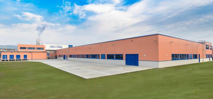 Semperit: Neue Hydraulikschlauch Produktionshalle Odry 2017, Fotocredit: Semeprit Group