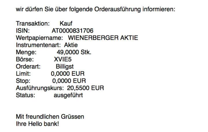 Kauf Wienerberger für #100100hello