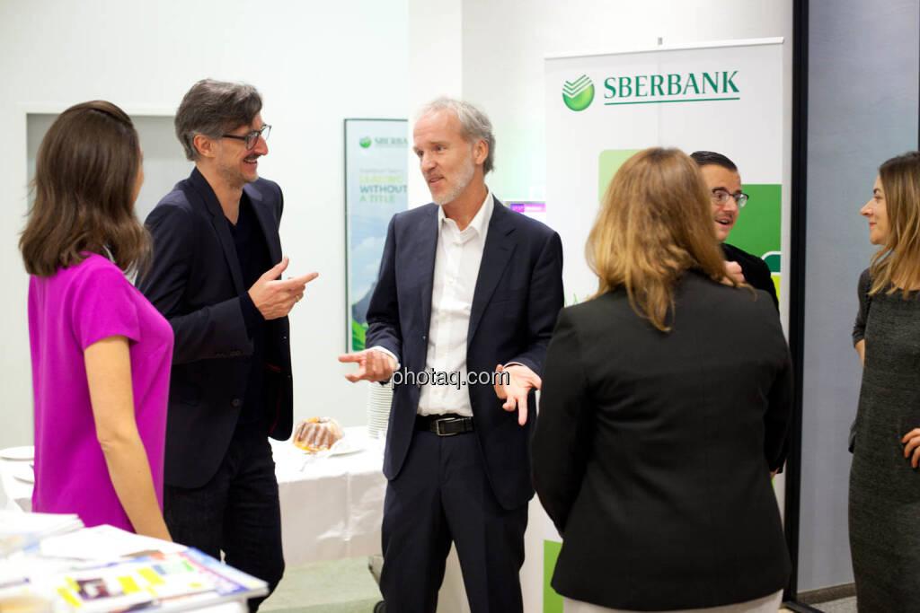 Linda Michalech (Sberbank), Josef Chladek, Christian Drastil, Anja Soffa (Sberbank), Michael J. Plos, Christine Petzwinkler - (Fotocredit: Michaela Mejta for photaq.com), © Michaela Mejta (08.11.2017)