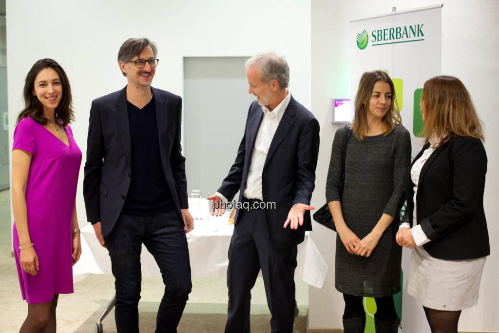Linda Michalech (Sberbank), Josef Chladek, Christian Drastil, Christine Petzwinkler, Anja Soffa (Sberbank) - (Fotocredit: Michaela Mejta for photaq.com), © Michaela Mejta (08.11.2017)