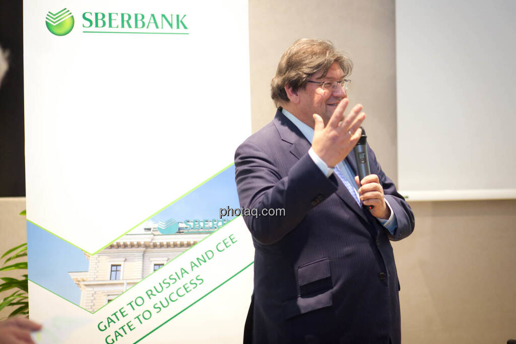 Stefan Zapotocky, Vorstand Corporate Banking Sberbank Europe (Fotocredit: Michaela Mejta for photaq.com), © Michaela Mejta (08.11.2017)
