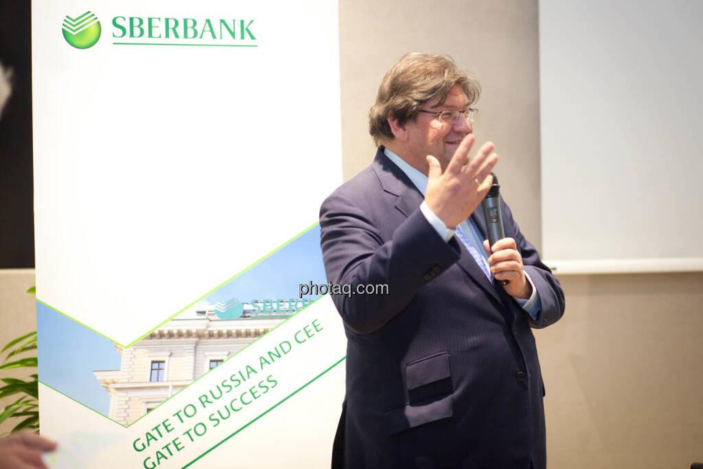 Stefan Zapotocky, Vorstand Corporate Banking Sberbank Europe (Fotocredit: Michaela Mejta for photaq.com), © Michaela Mejta (08.11.2017)