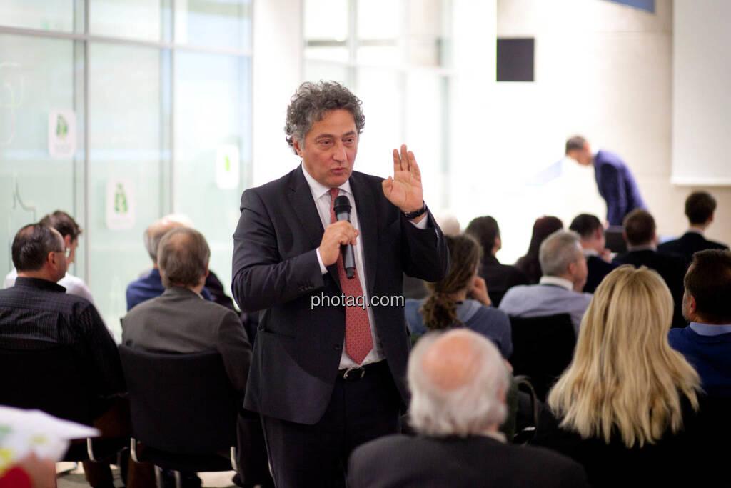 Angelo Rizzuti, Head of Transaction Banking and Trade Finance Sberbank Europe AG (Fotocredit: Michaela Mejta for photaq.com), © Michaela Mejta (08.11.2017)