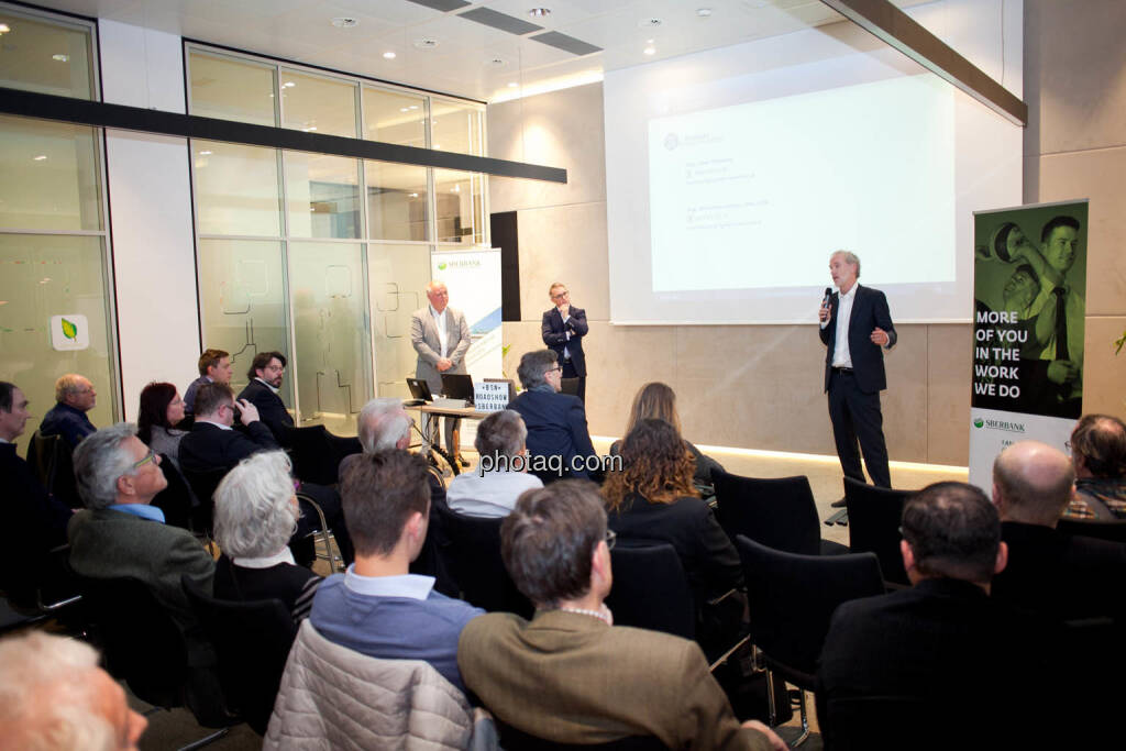 Lukas Stipkovich (Fondsmanagement, Sigma Investment), Alfred Reisenberger (Research, Sigma Investment), Christian Drastil (Börse Social Network) - (Fotocredit: Michaela Mejta for photaq.com), © Michaela Mejta (08.11.2017)