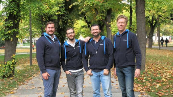 Das Wiener HR Startup JobRocker sichert sich in seiner ersten großen Finanzierungsrunde einen Millionenbetrag. Beim Lead Investor handelt es sich um den Münchner VC SURPLUS Invest. Gründerteam rund um CEO Günther Strenn, Foto: JobRocker