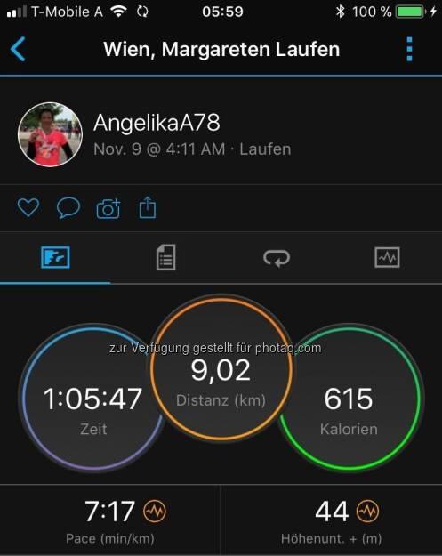 Early Morning Run (09.11.2017)