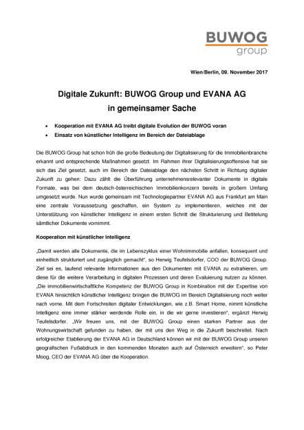 Buwog nutzt künstliche Intelligenz, Seite 1/2, komplettes Dokument unter http://boerse-social.com/static/uploads/file_2386_buwog_nutzt_kunstliche_intelligenz.pdf (09.11.2017)