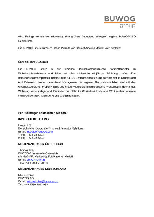 Buwog Group erhält Investment Grade Rating von S&P, Seite 2/2, komplettes Dokument unter http://boerse-social.com/static/uploads/file_2387_buwog_group_erhalt_investment_grade_rating_von_sp.pdf